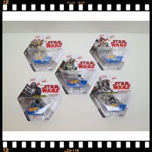 Mattel~Hot~Wheels~Star~Wars~Battle~Rollers~Set~5~